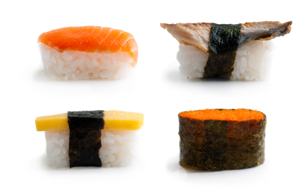 Counting Japanese sushi