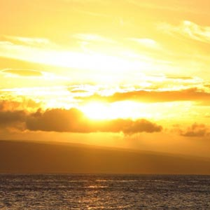Arabic sunset