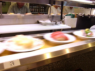 Running sushi - Japanese food