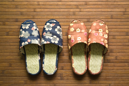 Japanese hotel slippers