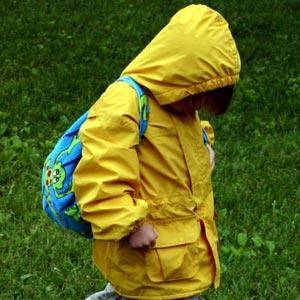A raincoat