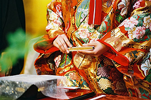 Traditional Japanese clothes
