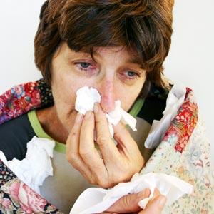 I'm sick.