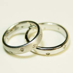Wedding rings in Arabic